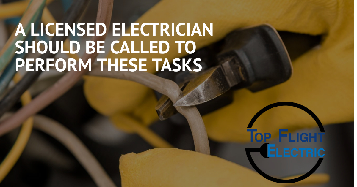 A residential electrician / commercial electrician